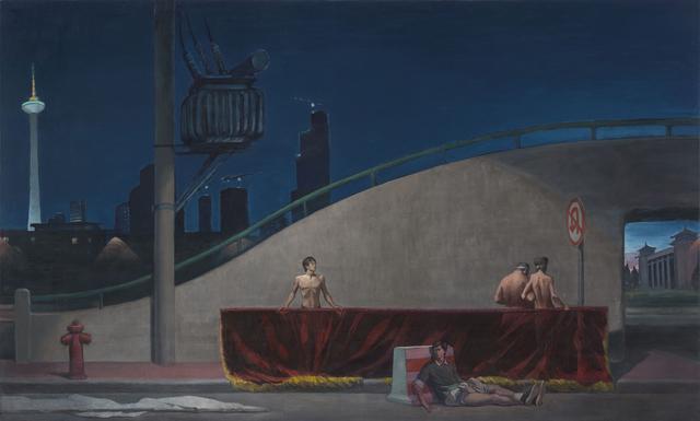 , 'Shenyang Night,' 2018, Galerie Urs Meile