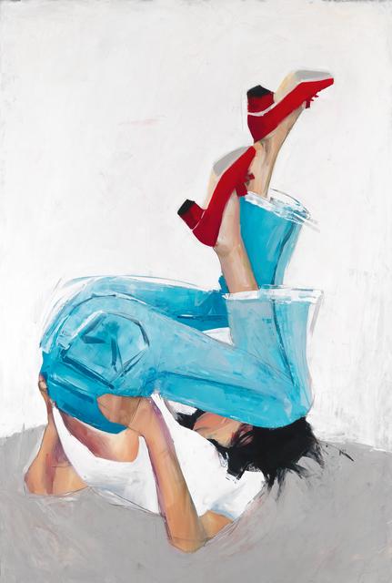 , 'Red Shoes,' 2018, Susan Eley Fine Art