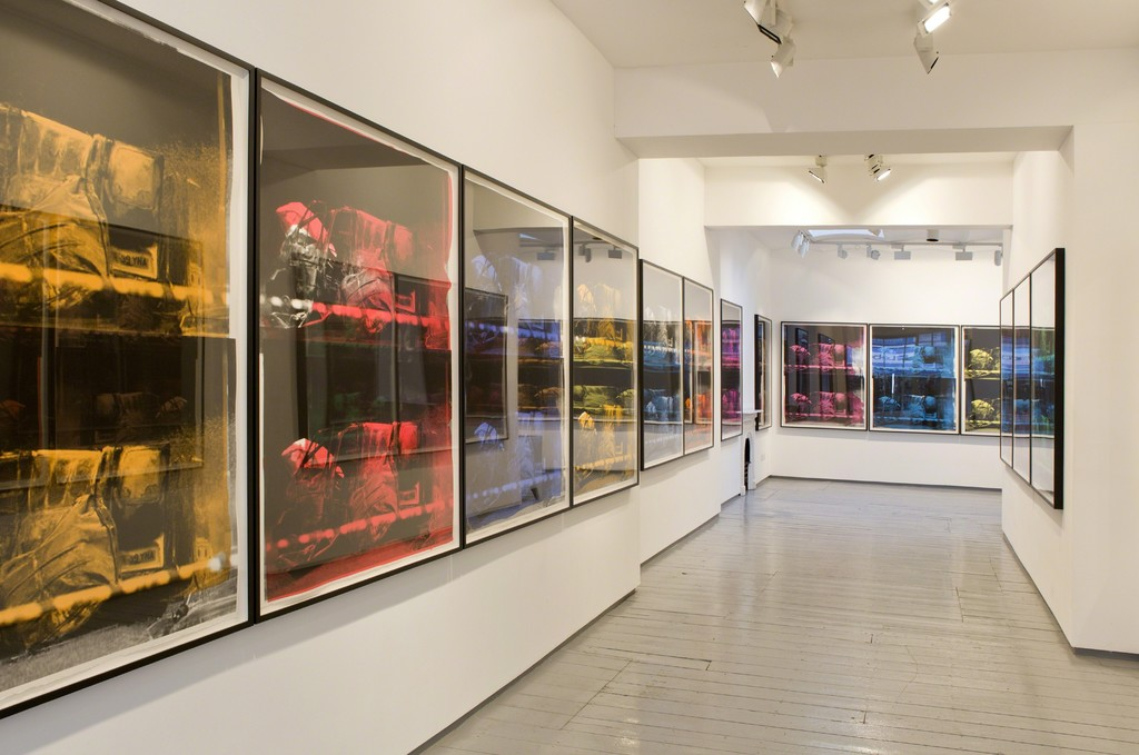 Installation at Paul Stolper Gallery - GAVIN TURK / Transit Disaster