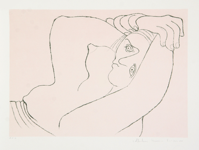 Pablo Picasso, 'Femme Couchee, 1929', 1979-1982, Print, Lithograph on Arches paper, RoGallery