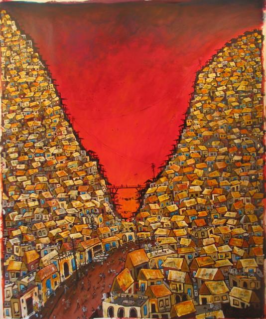 , 'Red Valley Favela,' , Emillions Art