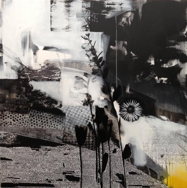 , 'Dreamscape ( Black + White + Yellow),' 2015, Rebecca Hossack Art Gallery