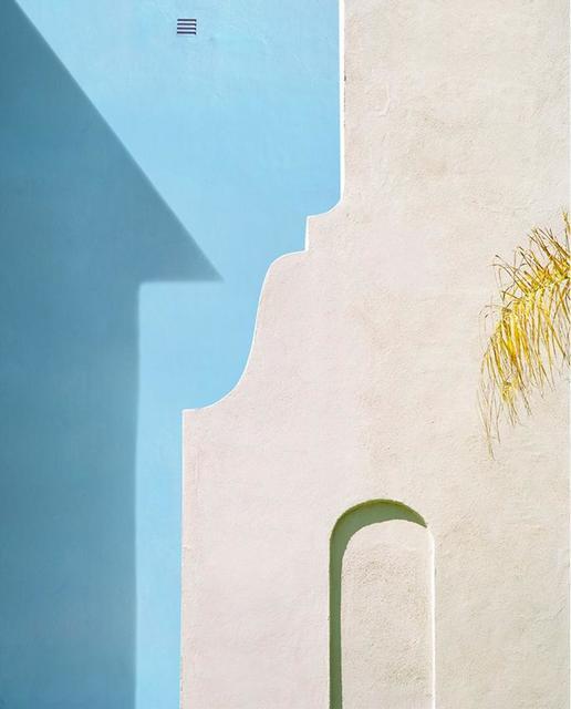 George Byrne, 'Yellow Wall with Blue', Bau-Xi Gallery