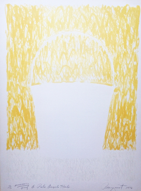 , 'A Pale Angel's Halo, from Realities and Paradoxes (Unique Proof) ,' 1973, Alpha 137 Gallery