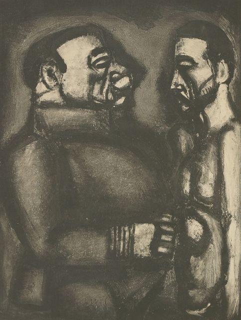 Georges Rouault, 'Face A Face, Plate Xl', 1948, Print, Aquatint, Sworders