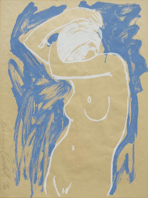 Luciano Castelli, 'Akt Blau Weiss', 1995-2005, GALERIE URS REICHLIN