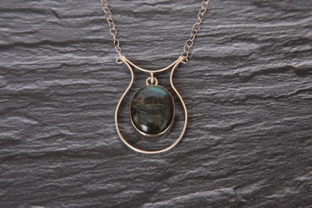 , 'Silver Labradorite Pendant,' ca. 2014, Springfield Art Association