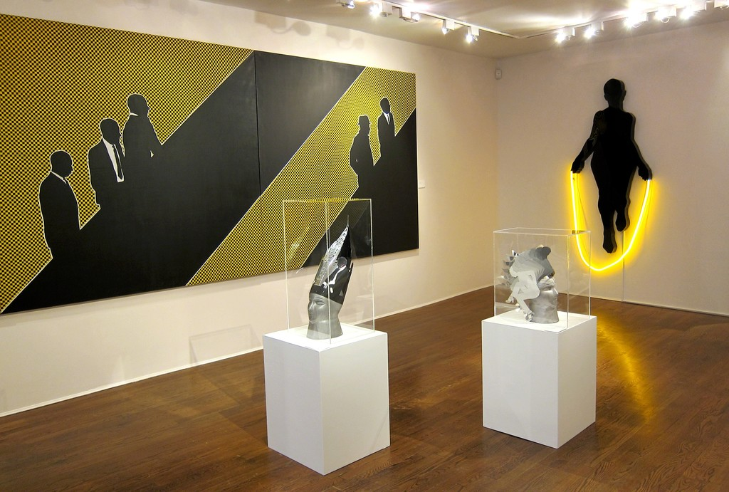Installation view: Idelle Weber: The Pop Years