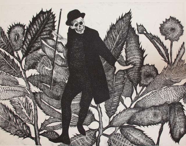 George Mead Moore, 'MEMENTO VIVERE', 2018, Print, Aguafuerte 19, 20/20, Galería Quetzalli