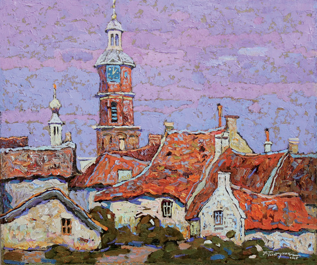, 'Red Roofs, Holland,' 2016, Paul Scott Gallery & galleryrussia.com