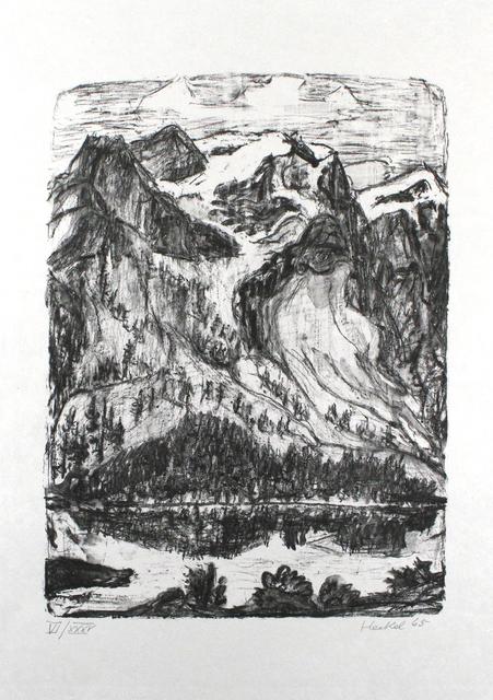 , 'Berghang am See,' 1965, Sylvan Cole Gallery