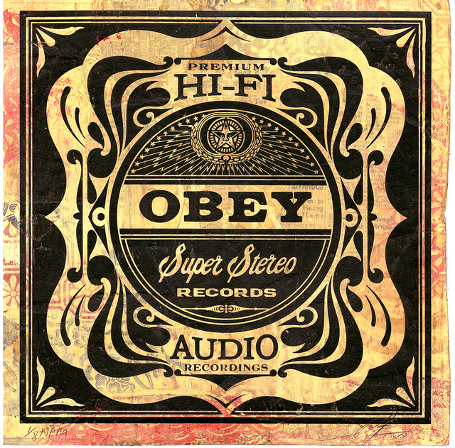 Shepard Fairey, 'Super Stereo', 2013, Underdogs Gallery