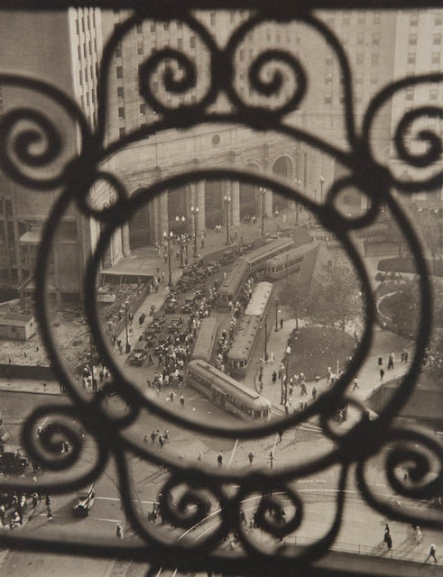 Margaret Bourke-White, 'Public Square, Terminal Tower, Cleveland', 1928/1998, Contemporary Works/Vintage Works