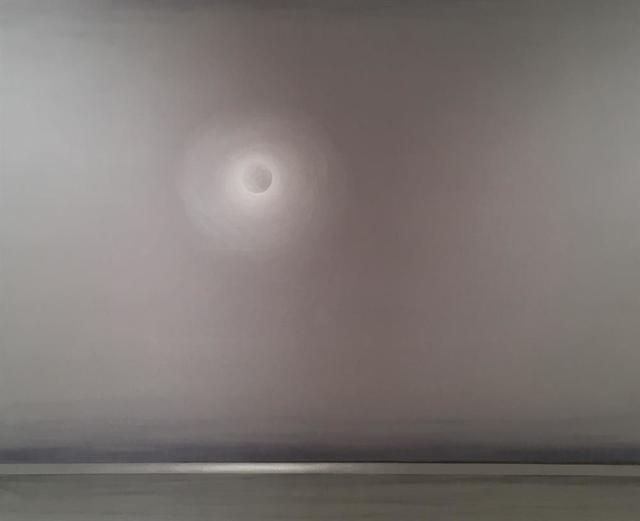 , 'Mond über der Lagune,' 2017, Galerie Kovacek & Zetter