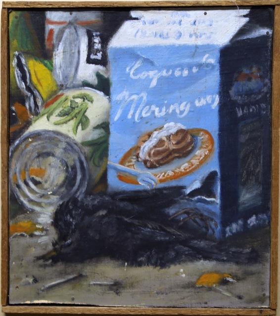 , 'Meringue et corbeau mort,' 1954, Galerie Gabrielle Maubrie