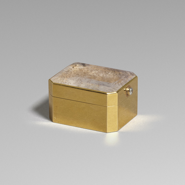 Chaumet, 'Gold pill box', c. 1965, Wright