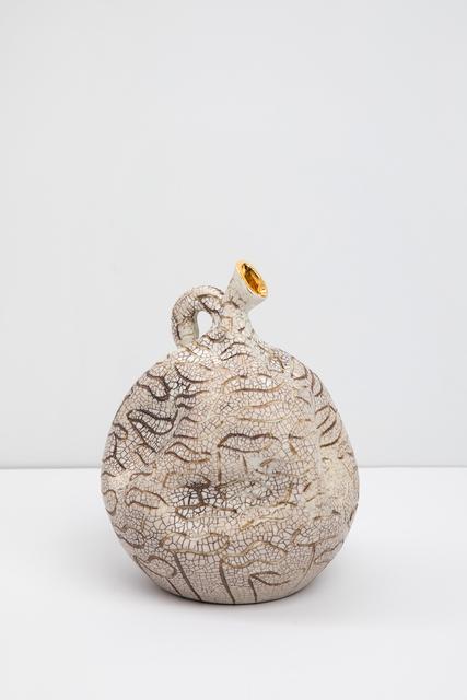 , 'Small Gold Throat #1,' 2018, Tayloe Piggott Gallery