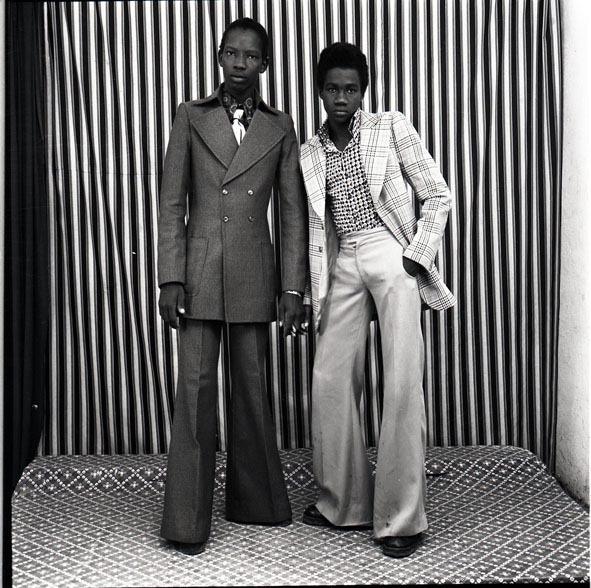 , 'Les deux amis avec pantalon pattes d'éléphant,' 1975, GALLERY FIFTY ONE