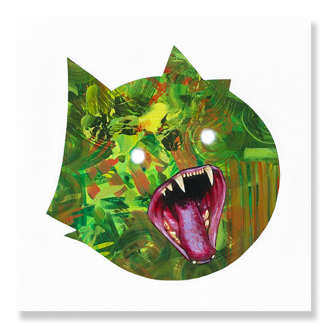 , 'Fang You Very Much - Green,' 2018, Treason Gallery