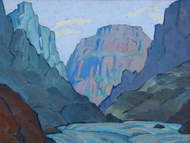 , 'Northern Arizona,' 1925, JRB Art at The Elms