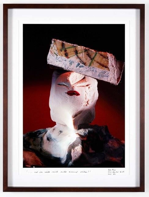 , ''... und ich werde mich nicht einmal rächen!' ('... and I won't even take revenge!') (Accidental Birth),' 2013, Grieder Contemporary