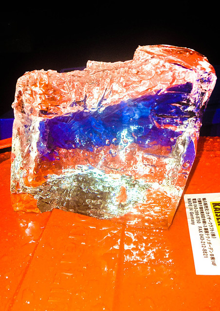 , 'Ice (Orange and Blue),' 2015, MIYAKO YOSHINAGA