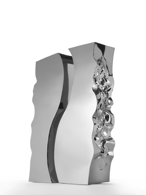 Helidon Xhixha, 'Light Waves', 2015, Sculpture, Mirror polished stainless steel, Cris Contini Contemporary