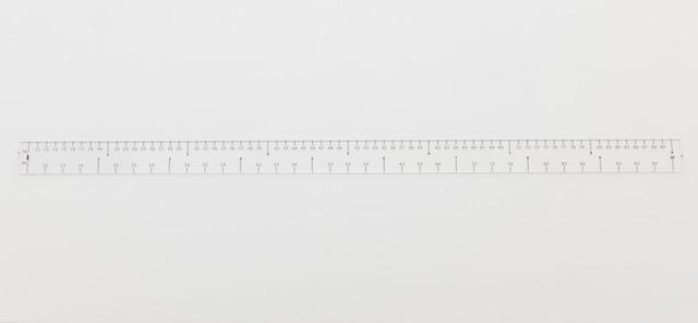 , 'Ruler Rhythm,' 2011, Akinci