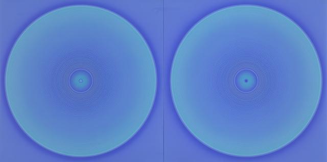 , 'WORK75-Blue1232,' 1975, Anne Mosseri-Marlio Galerie