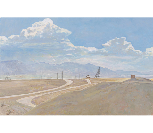 , 'Looking towards the Big Pit, Butte, MT,' 2011, G. Gibson Gallery