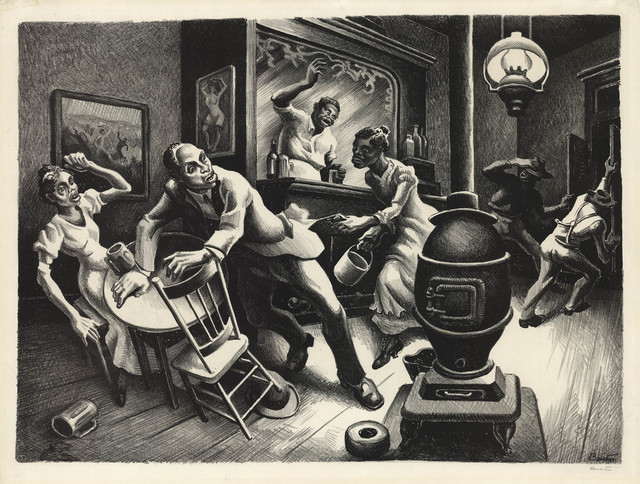 , 'Frankie and Johnnie.,' 1936, The Old Print Shop, Inc.