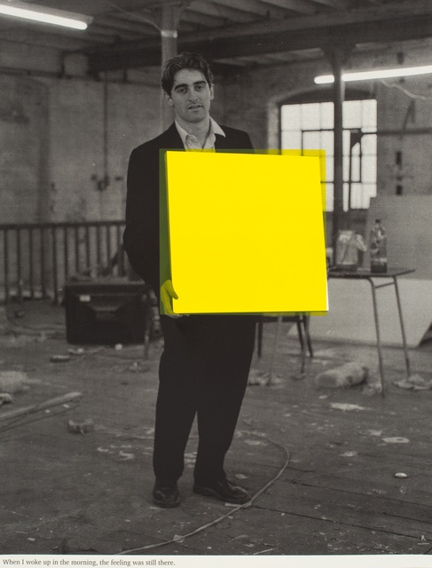 , 'When I woke up in the morning the feeling was still there (yellow),' 1992, Paul Stolper Gallery