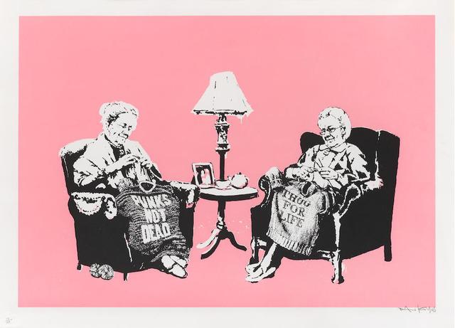 Banksy, 'Grannies (Signed)', 2006, Prescription Art