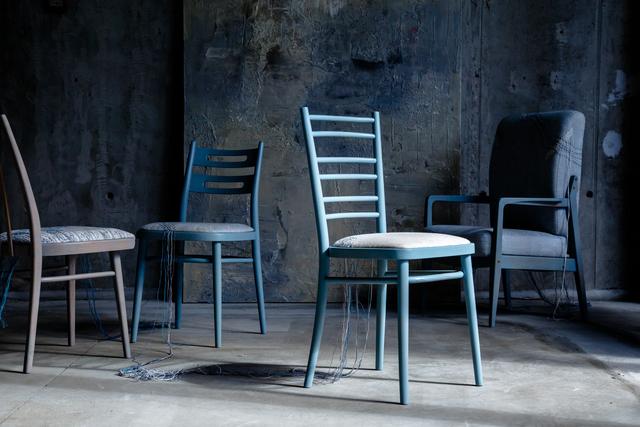 , 'Kaleidoscope chairs,' 2018, The DOT home