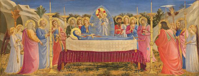 , 'Funeral of the Virgin,' 1431-1435, Isabella Stewart Gardner Museum