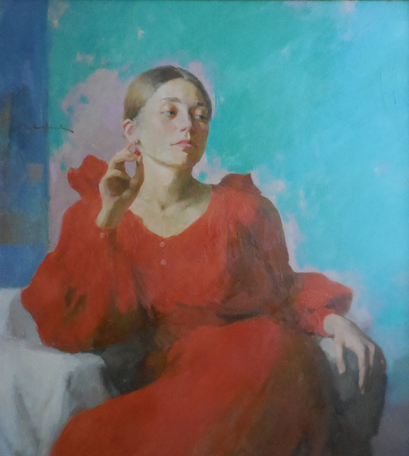 , 'The Red Dress,' 2015, Abend Gallery