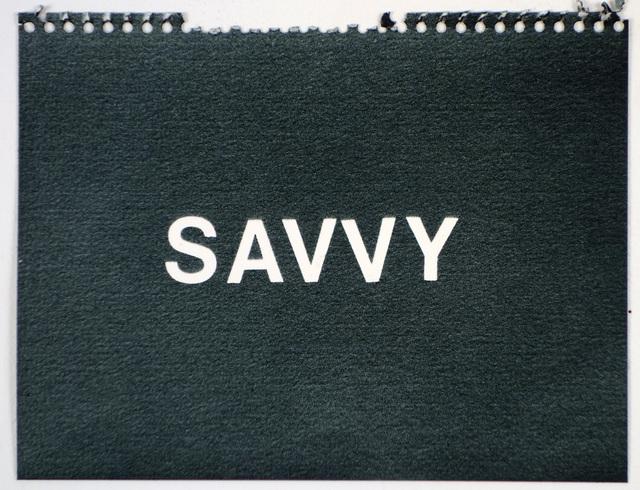 , 'Savvy (black),' , Rodolphe Janssen