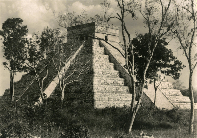 , 'Temple of Kukulcan, Chichen Itza,' 1932, Charles Isaacs Photographs, Inc
