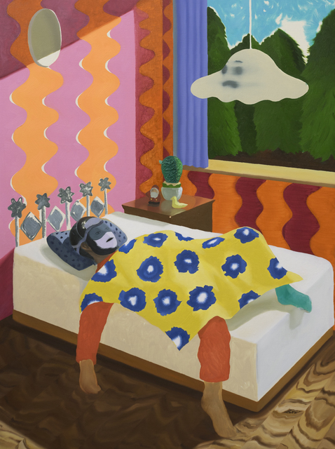 , 'The Man Who Died and Awoke in a Child's Room in a Forest,' 2016, Gallery LVS