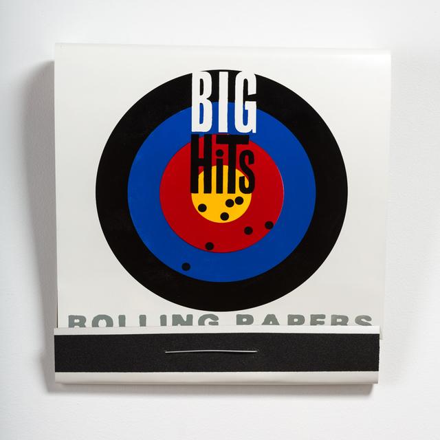 , 'Big Hits Rolling Papers,' 2014, Jonathan Ferrara Gallery