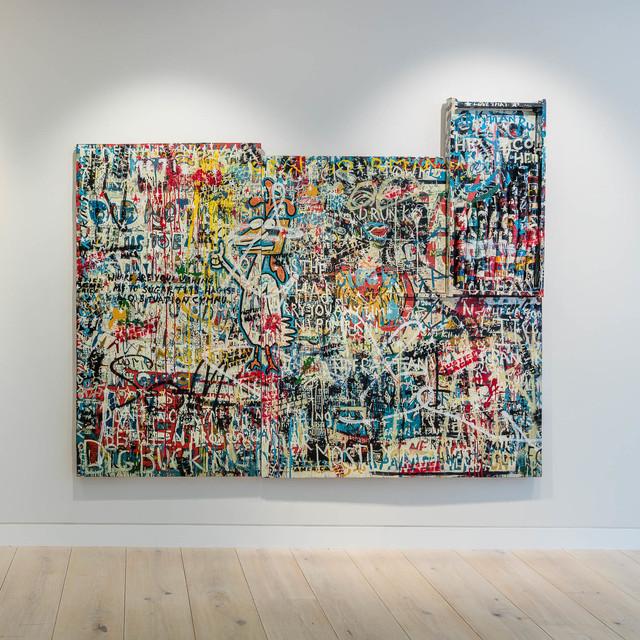 , 'Tanks Build Friends,' 2016, John Martin Gallery