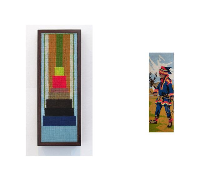 , 'Campesino con traje típico y cesta,' 2013, Wu Galeria