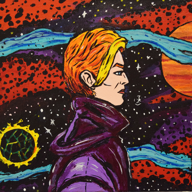 Marina Marchand, 'David Bowie', 2017, Fountain House Gallery