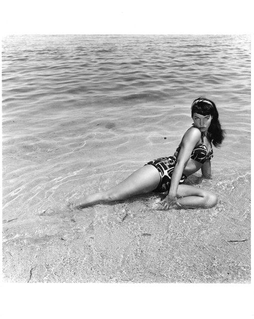 Bunny Yeager, 'Bettie Page, Miami Beach, Fl.', 1954, The Art Design Project