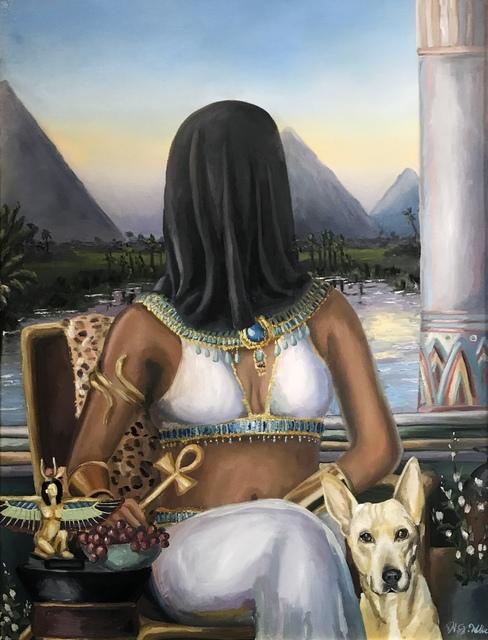 Heather Weller, 'The Forgotten Pharaoh', 2019, {9} The Gallery