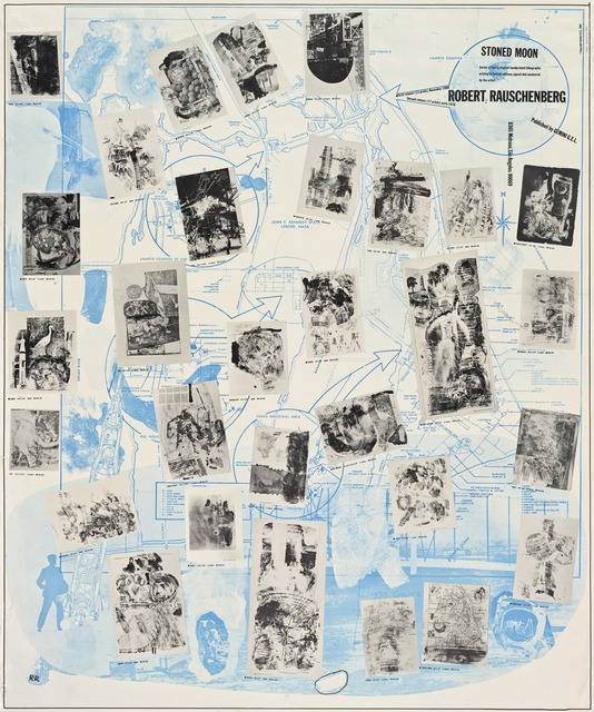 Robert Rauschenberg, 'Stoned Moon Poster,' 1969, San Francisco Museum of Modern Art (SFMOMA)