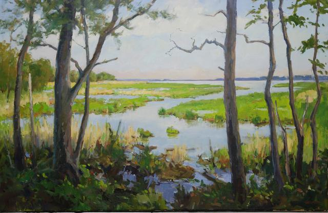 , 'Through the Trees,' 2010, Susan Calloway Fine Arts