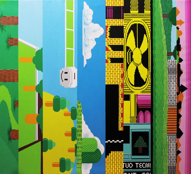 "Jassiel Palenzuela, 'From the Series ""Vertical Horizons"": Rhizomes', 2018-2019, Galería COVARRUBIAS"