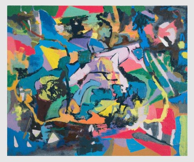 , 'Night Walk (pink spy),' 2018, David Richard Gallery