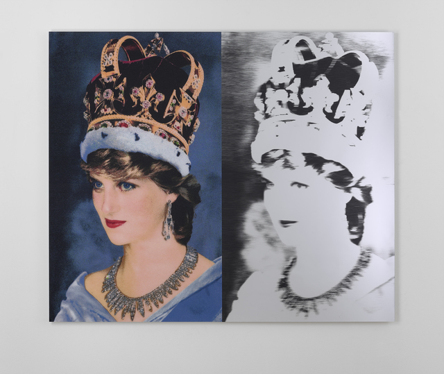 , 'Queen Di. II,' 2019, Ronchini Gallery
